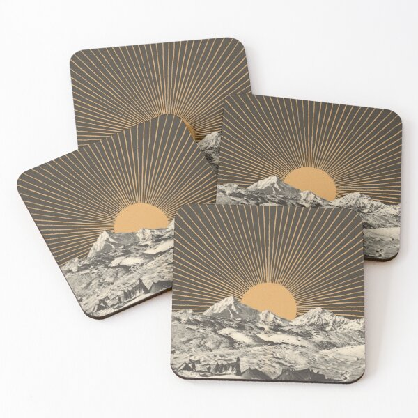Mountainscape 6 Coasters (Set of 4)