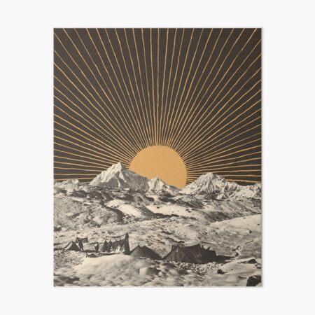 Mountainscape 6 Art Board Print