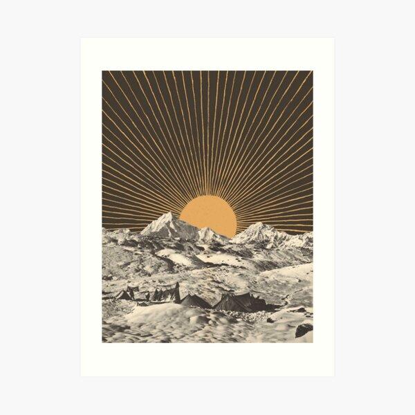 Mountainscape 6 Art Print