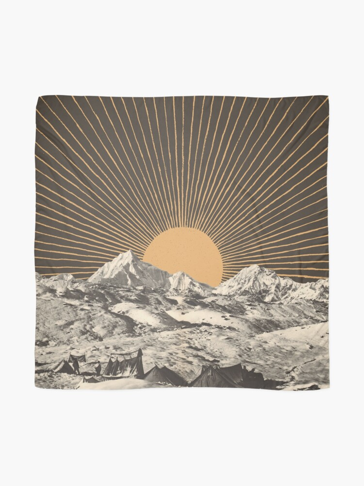 Mountainscape 6 Scarf By Florentbodart Redbubble