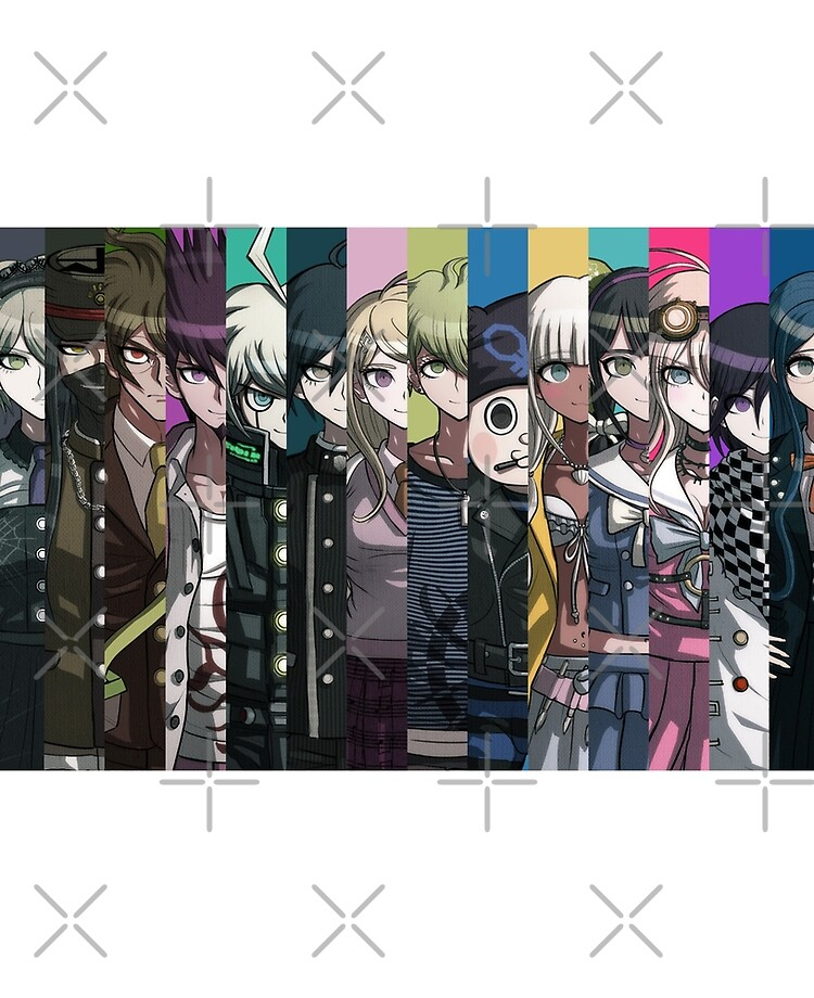 Danganronpa V3 Wallpaper Ipad Case Skin By Starsketches Redbubble Find the best free desktop wallpapers. redbubble