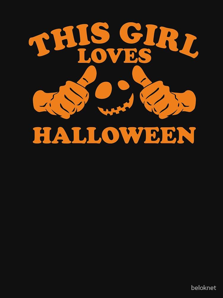 This Girl Loves Halloween by beloknet