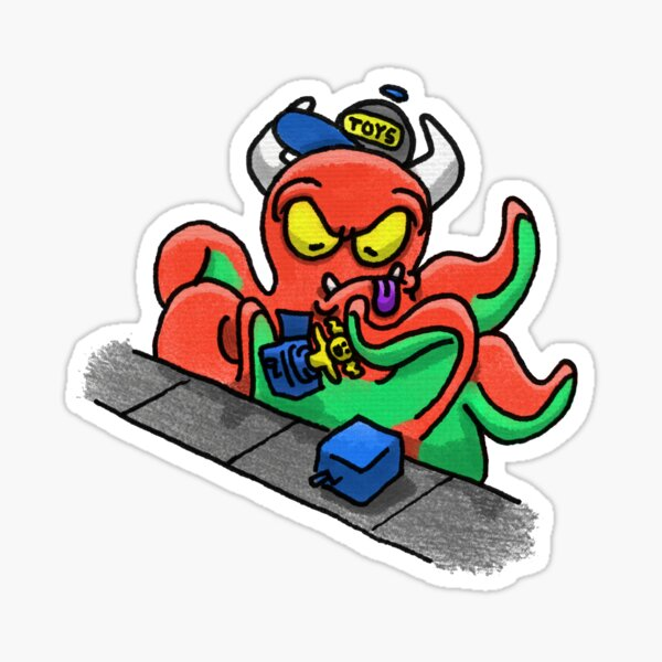 Toy Factory Monster Sticker