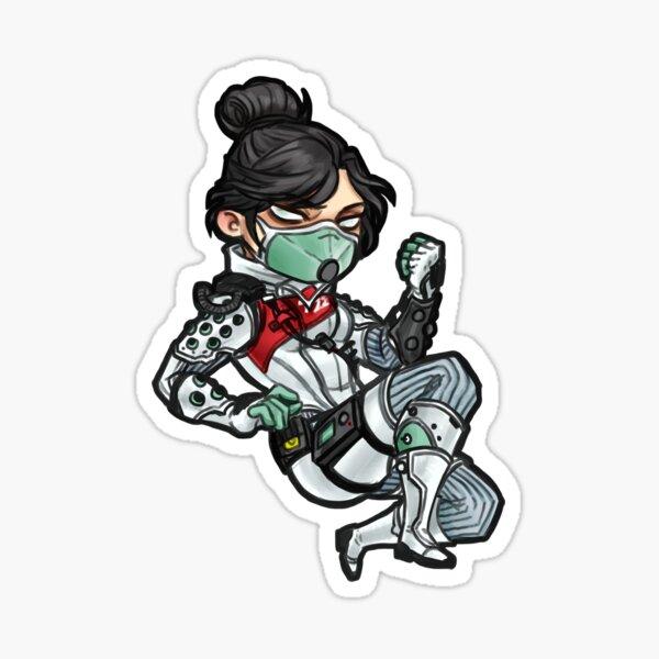quarantine 722 wraith Sticker