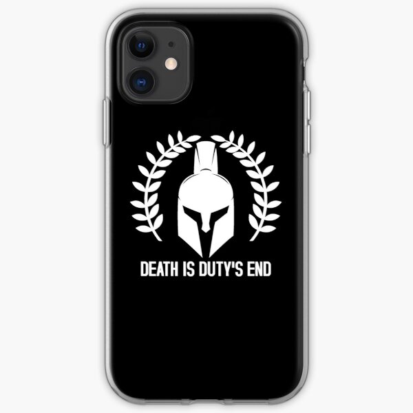 Death is duty's end - Warhammer 40K Imperium saying iPhone Soft Case