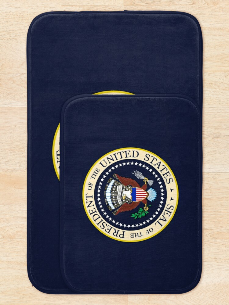 Alternate view of Seal of the President of the United States Bath Mat