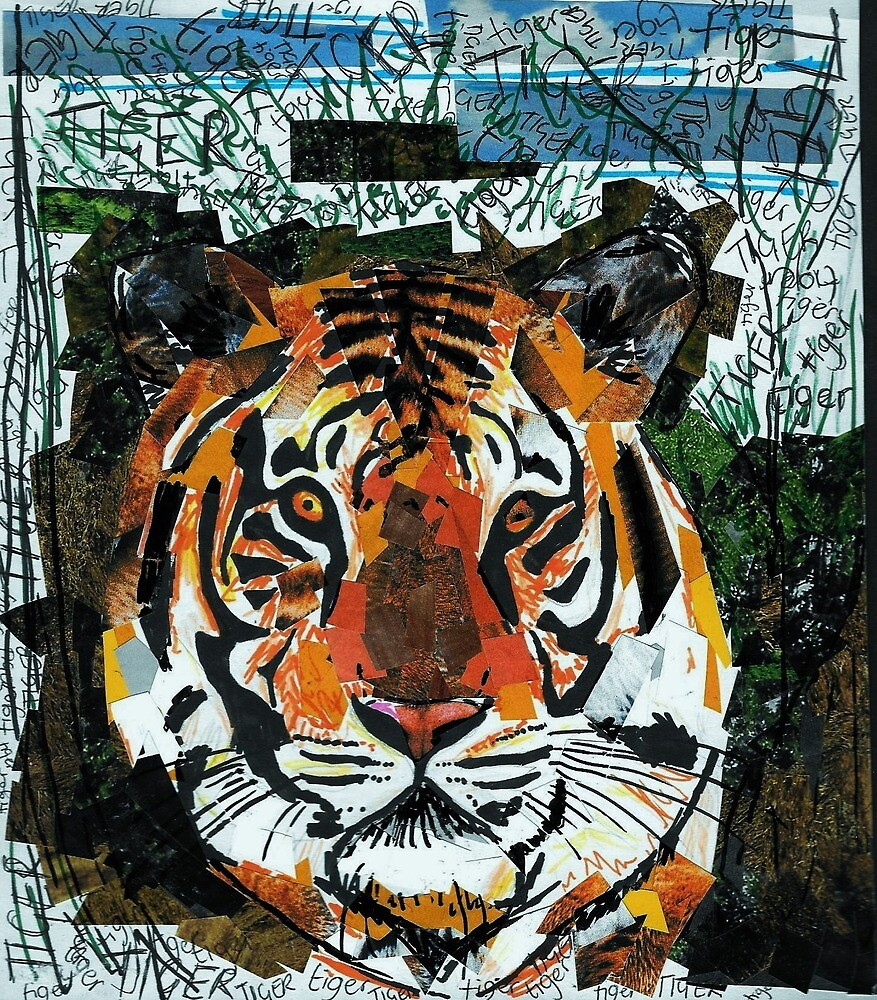 Tiger Tiger by EllieKD