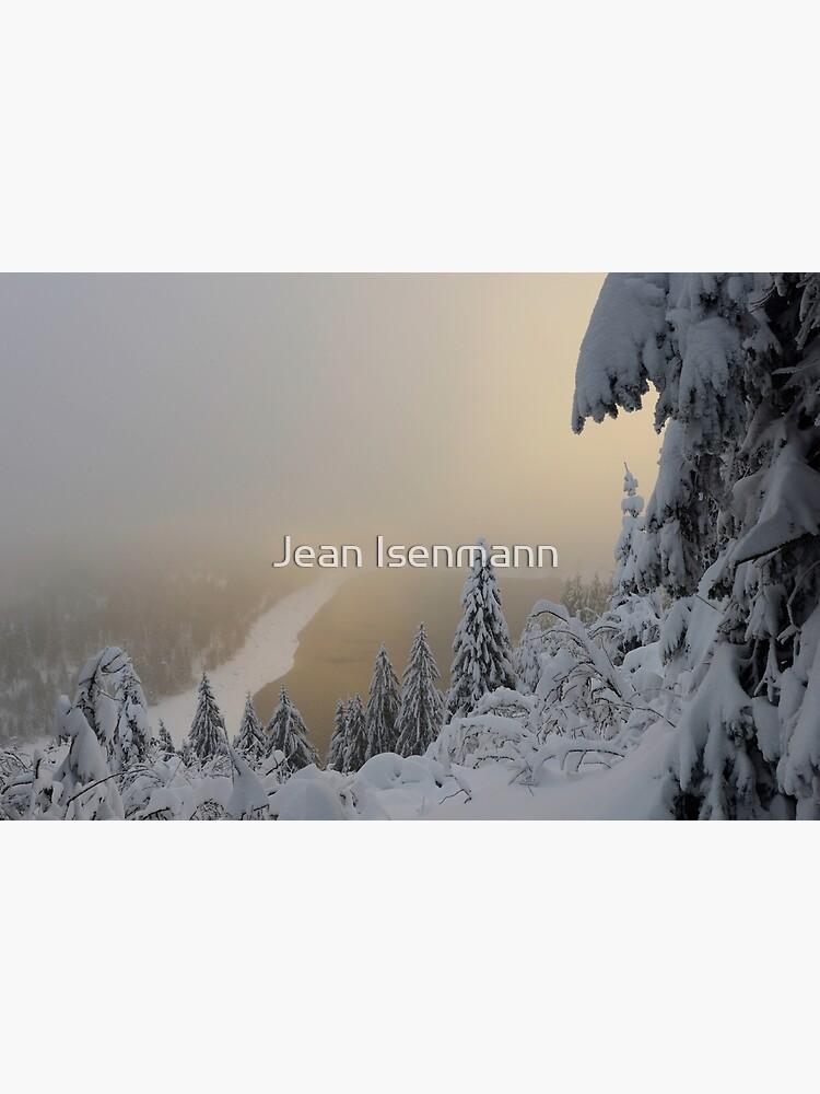 «Lac Blanc en hiver,» par Isenmann