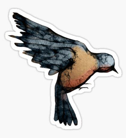 Scribbler Bird Sticker