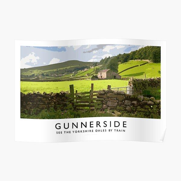 Gunnerside (Railway Poster) Poster