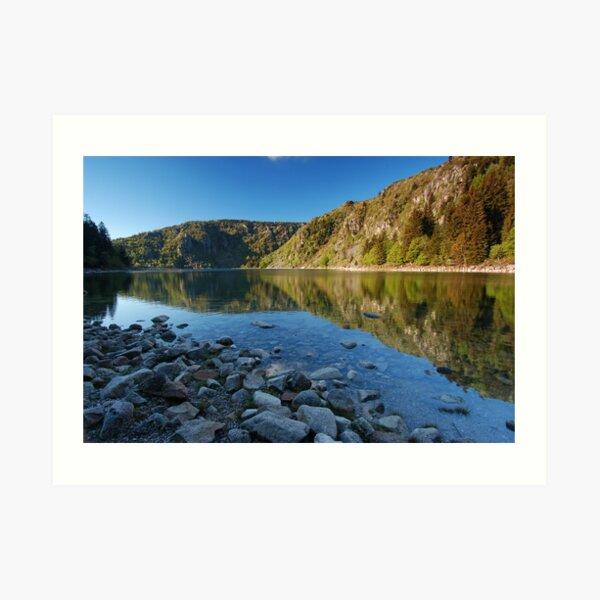 Le Lac Blanc Impression artistique
