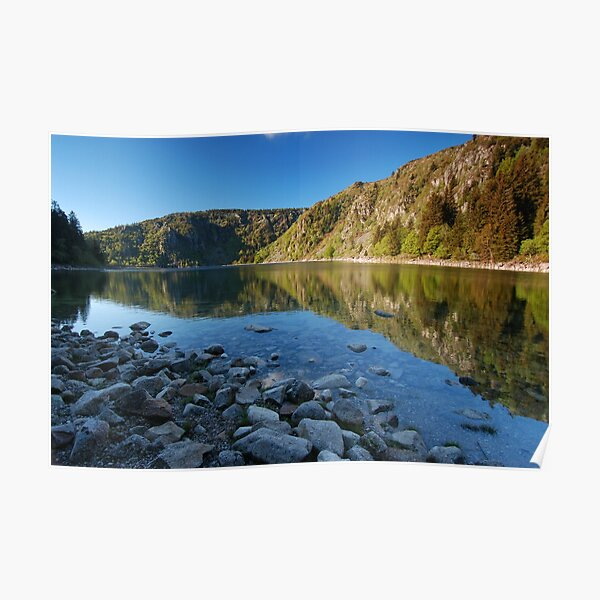 Le Lac Blanc Poster