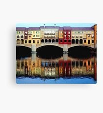 Lake Las Vegas Canvas Print