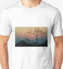 Tree Watching The Perfect Sunset Unisex T-Shirt