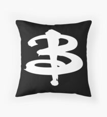 Buffy The Vampire Slayer 'B' v2.0 Throw Pillow