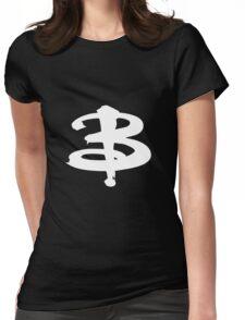 Buffy The Vampire Slayer 'B' v2.0 Womens Fitted T-Shirt