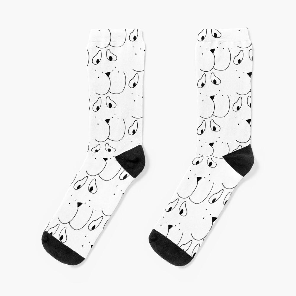 Duckie Popohund Socks