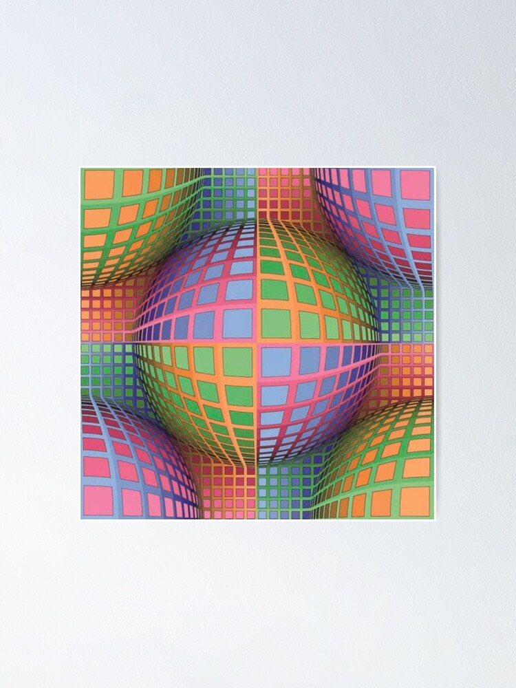 Alternate view of In Impossible Art (impossible objects, visual art), the Dutch artist Maurits Cornelis Escher became famous. He used techniques based on mathematical principles in the creation of his artworks. Poster