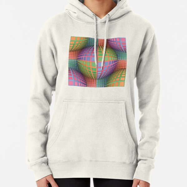 In Impossible Art (impossible objects, visual art), the Dutch artist Maurits Cornelis Escher became famous. He used techniques based on mathematical principles in the creation of his artworks. Pullover Hoodie