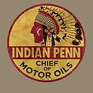 Indisches Penn Motoröl Vintage Emblem V01 von Lidra