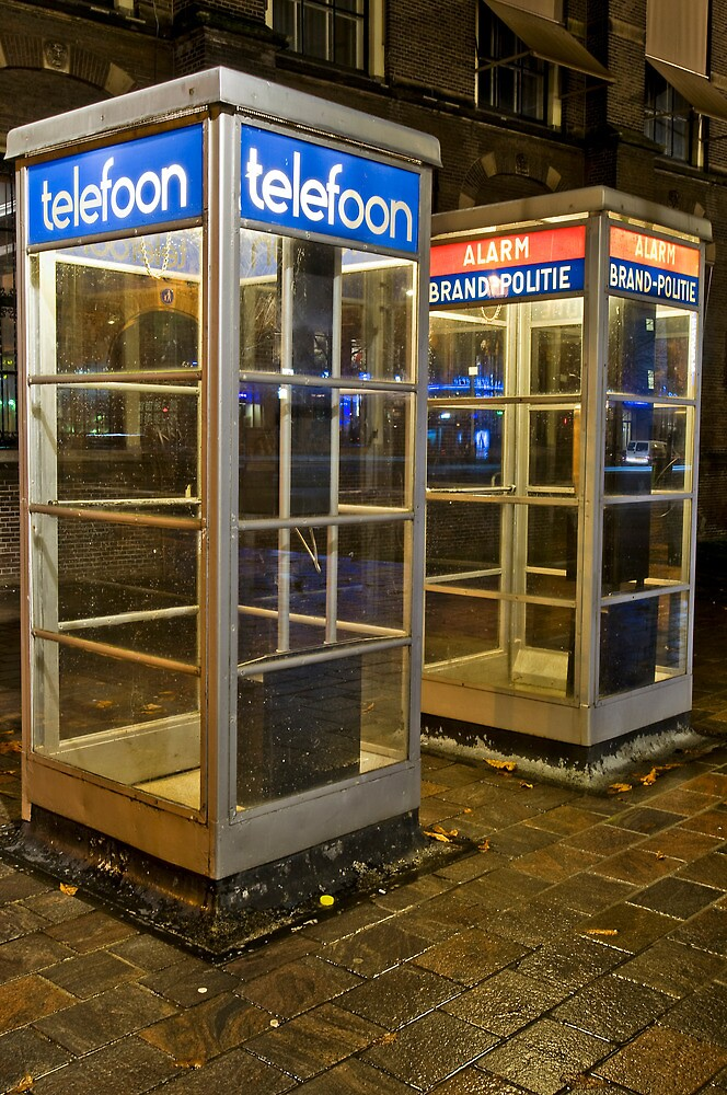 Den Haag Telephone Booths by CGPerry