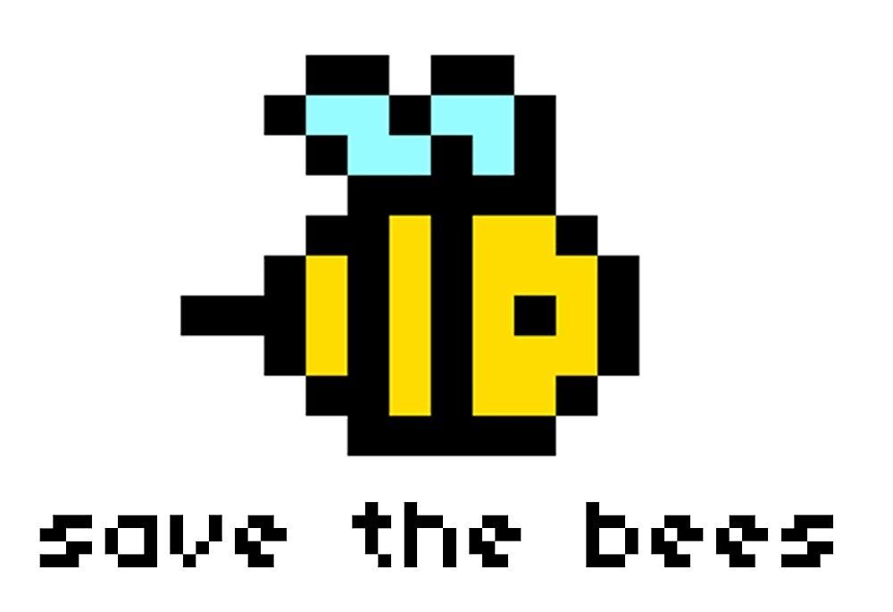 Pixel Bee by elisenechal