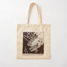 Husky Cotton Tote Bag