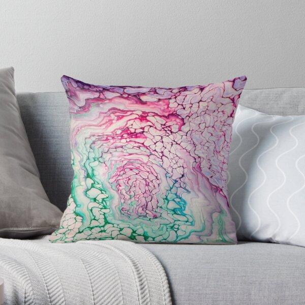 Unicorn Birth  Throw Pillow