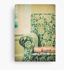 chair love Canvas Print