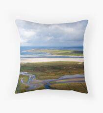 Loughros bay Throw Pillow