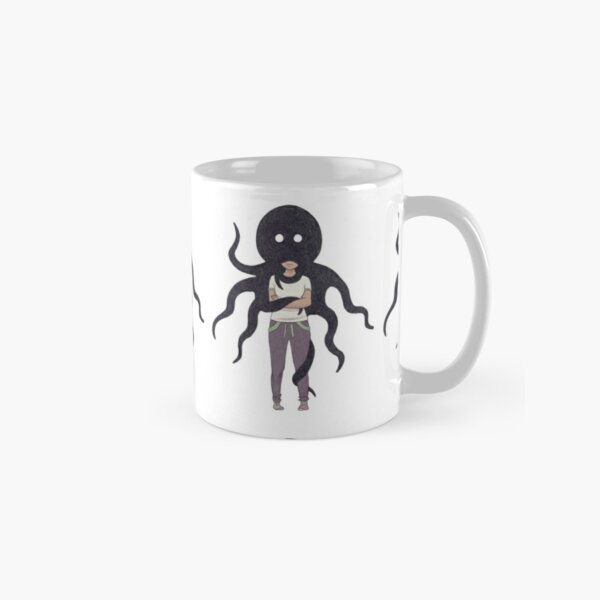 Bad Mood Octopus Classic Mug
