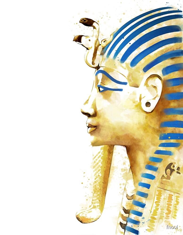 Tutankhamun by fnoul