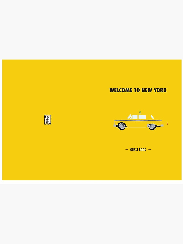 New York City: Yellow Taxi  by dollabails