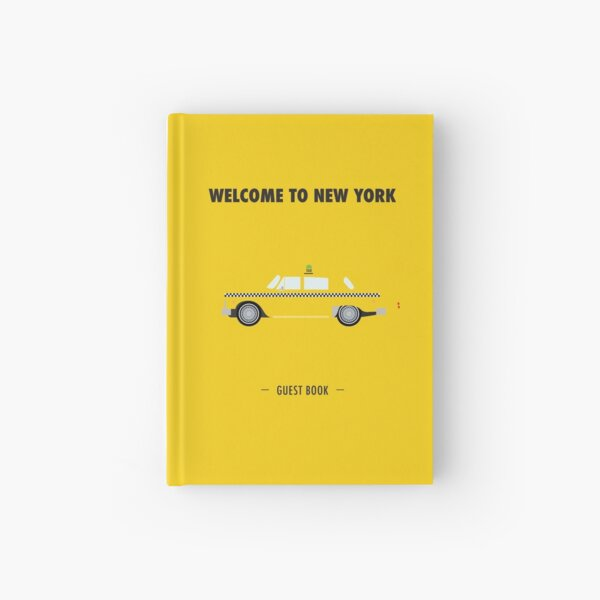 New York City: Yellow Taxi  Hardcover Journal