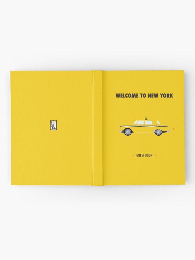 Alternate view of New York City: Yellow Taxi  Hardcover Journal