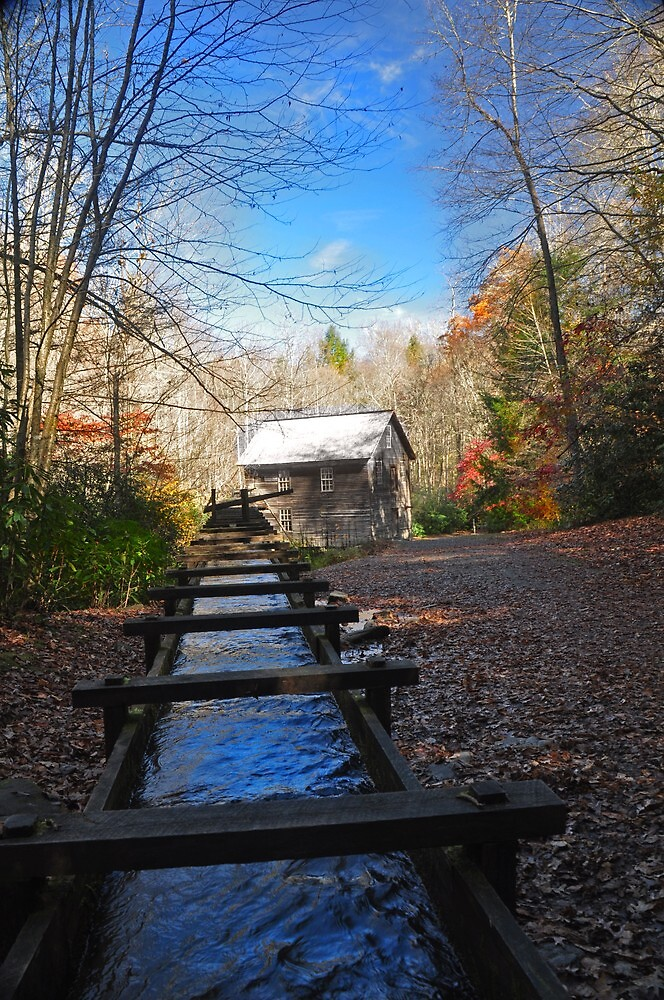 Mingus Mill, North Carolina  by lynell