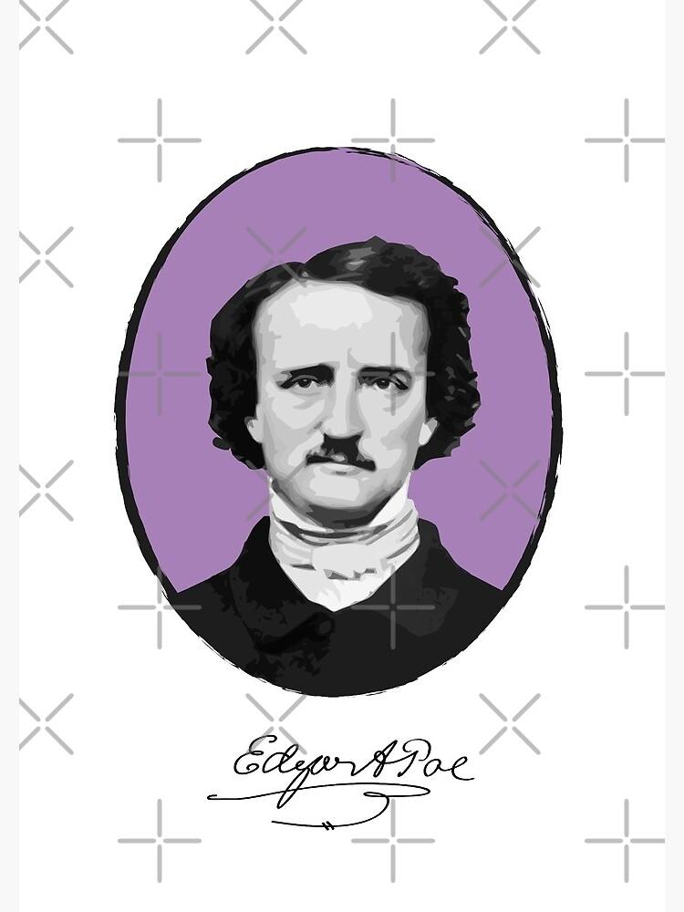 Edgar Allan Poe by PrintablesP