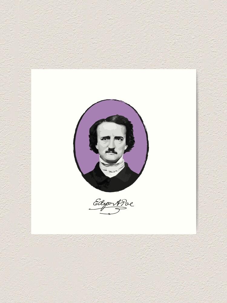 Alternate view of Edgar Allan Poe Art Print
