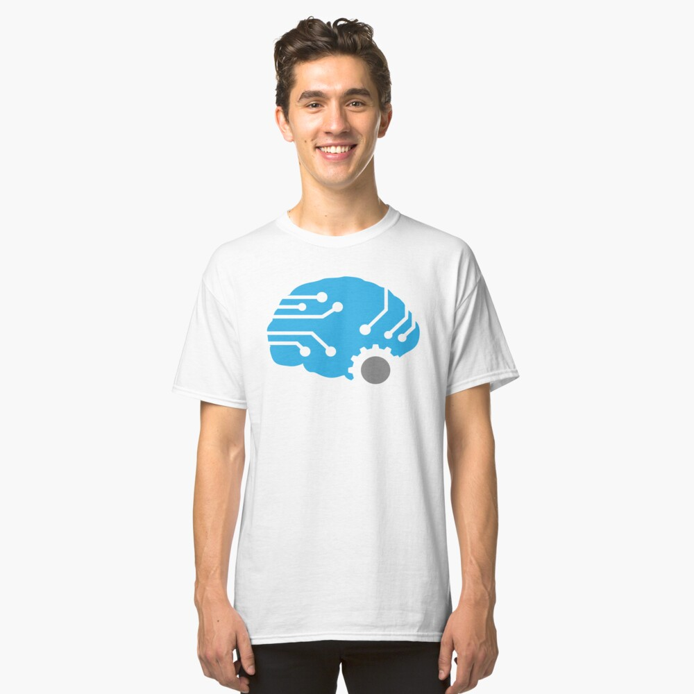 Meat.Space Brain Classic T-Shirt Front