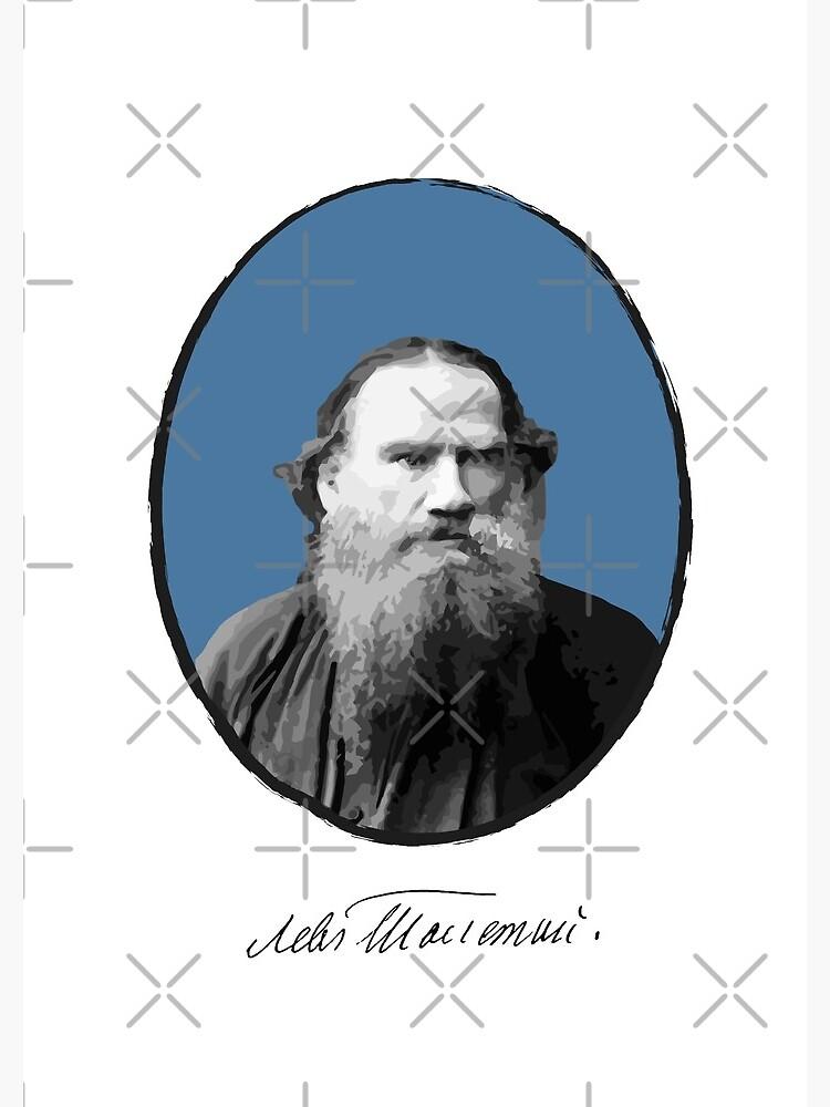 Lev Tolstoj by PrintablesP