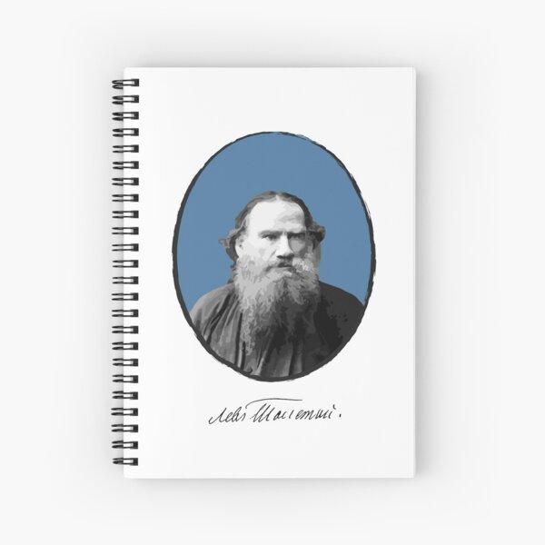 Lev Tolstoj Spiral Notebook