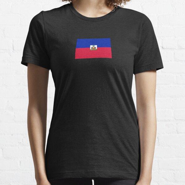 Étui pour téléphone portable avec drapeau de Haïti T-shirt essentiel
