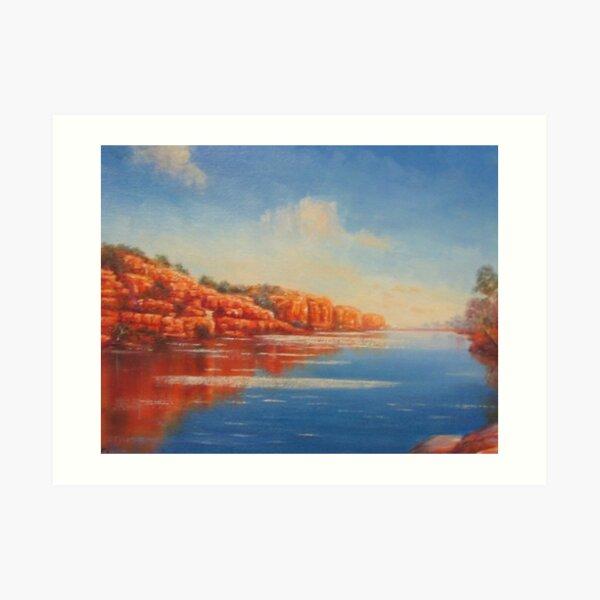 """Fitzroy River - Kimberley, Western Australia"" Art Print"