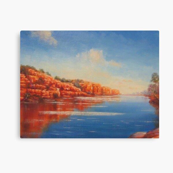 """Fitzroy River - Kimberley, Western Australia"" Canvas Print"