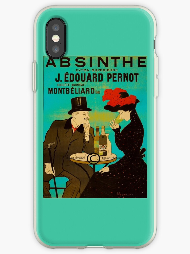 Absinthe iPhone Case by snook118