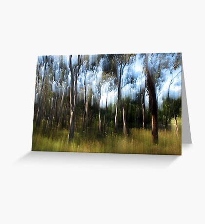 A Day in December Greeting Card