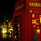 Phone Box London by Anthony Hennessy