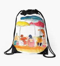 Beach Buddies Drawstring Bag
