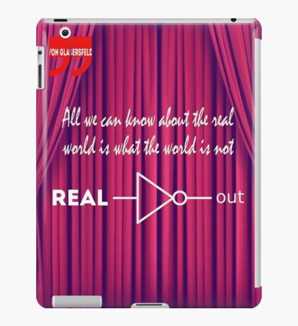 Knowing What To Discard Is Knowledge iPad Case/Skin