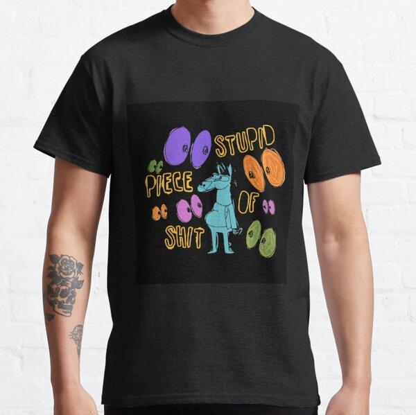 Bojack Cavalier - stupide morceau de merde T-shirt classique